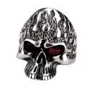 """Кольцо """"Fire Skull"""" (серебро)"""