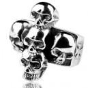 """Кольцо """"Skulls"""" (серебро)"""