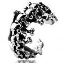 "Кольцо ""Skulls and Bone"" (серебро)"