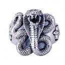 """Кольцо """"Cobra"""" (серебро)"""