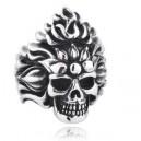 "Кольцо ""Fire Skull"""