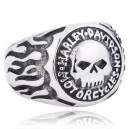 "Кольцо ""Harley Skull"""