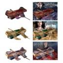 Комплект волшебных палочек Гарри, Гермионы и Рона в коробке Олливандера