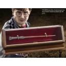 Бронзовая волшебная палочка Гарри Поттера в коллекционном футляре
