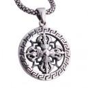 "Кулон скипетр ""Buddhism Dorje"" (серебро)"