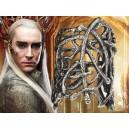 """Кольцо Лихолесье Mirkwood """"The Hobbit"""" (серебро)"""
