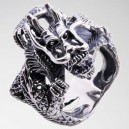 """Кольцо """"Angry Dragon"""" (серебро)"""