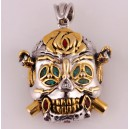 "Кулон ""Skull. Lucky Necklace"" (серебро)"