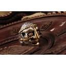"""Кольцо """"Kapala Skull """" (серебро)"""