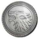 """Брошь """"Game of Thrones. House Stark"""""""