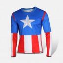 "Лонгслив ""Капитан Америка"""