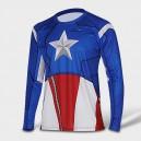 """Лонгслив """"Captain America. Стивен Роджерс"""""""