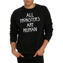 "Пуловер ""All Monsters Are Human"""
