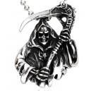 "Кольцо ""Grim Reaper Skull Death"""