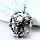 """Кулон """"Skull Motorcycle"""""""