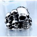 "Кольцо ""Skulls Band"""