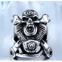 "Кольцо ""V-twin Skull"""