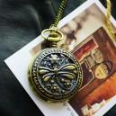 """Часы-кулон """"Dragonfly Flower"""""""
