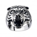 "Кольцо ""Тигр"" серебро"